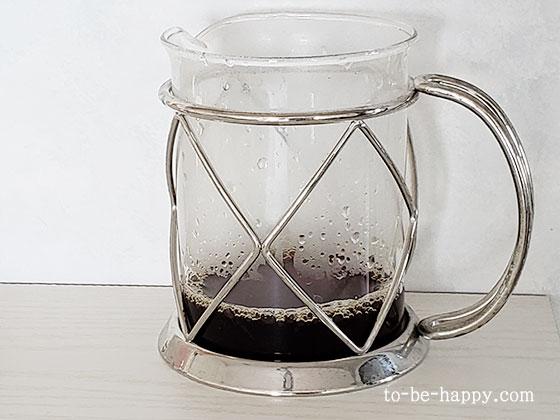 KALDIのアイスブレンドで作ったアイスコーヒー