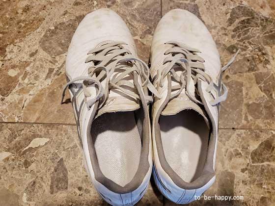 臭い靴を消臭する方法