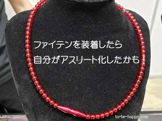 ファイテンのネックレス