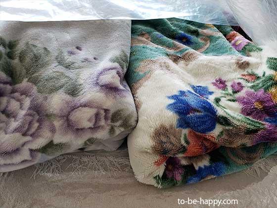 毛布や布団や毛布をコインランドリーで洗う