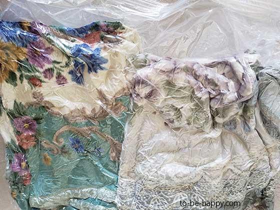 布団や毛布をコインランドリーで洗う