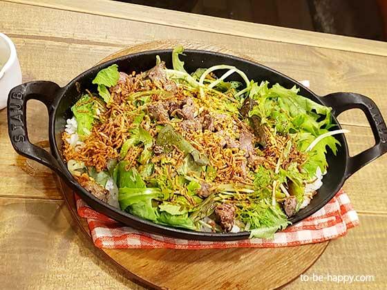熟成肉 グリルドエイジングビーフ横浜 ビーフガーリックライス
