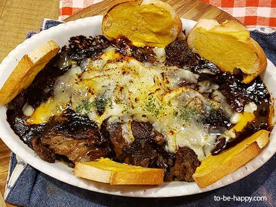 熟成肉 グリルドエイジングビーフ横浜 熟成肉のデミグラタン