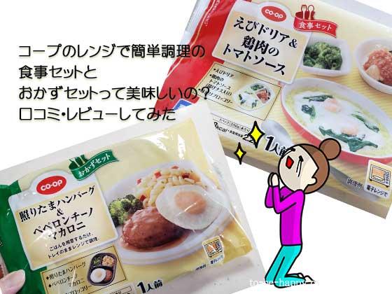 【超時短料理】おうちコープのレンチンおかずセットの味や量、満足度は?