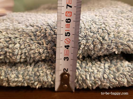 cocochiena(ココチエナ)の使い心地 洗濯3回