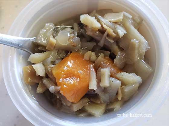 モンマルシェ・生姜入りごろごろ野菜のスープ