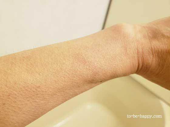 ミラブルプラスで洗った手