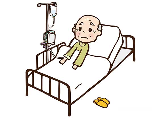 親の介護高齢者の入院はせん妄を起こす可能性が
